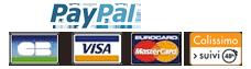 Paiement CB sécurisé PayPal
